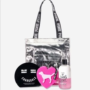 *LAST ONE* PINK | BEAUTY TOTE BAG